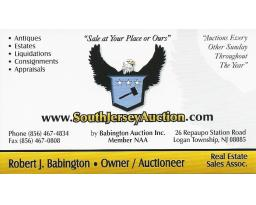 South Jersey Auction by Babington Auction Inc.