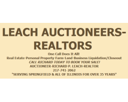 Leach Auctioneers/ Realtor