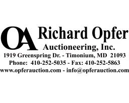 RICHARD OPFER AUCTIONEERING INC