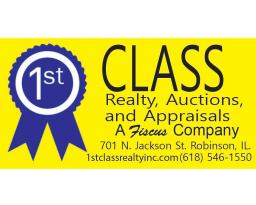 1st Class Realty, Auctions, & Appraisals a Fiscus Company