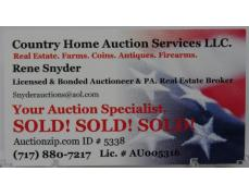 Country Home Auction Services LLC.